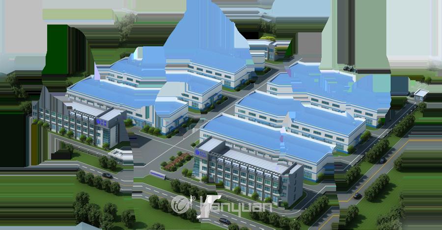 汉源新厂区欢迎你-效果图1